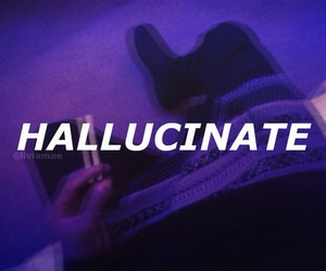 hallucinate, grunge, and purple image