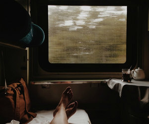 train, travel, and adventure image