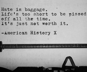 american history x, life, and movie image