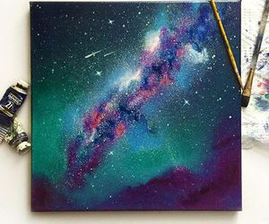 art and galaxy image