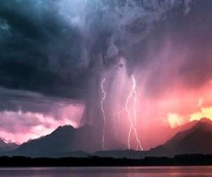 nature, thunder, and storm image