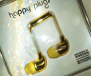 gold, light, and happy plugs image