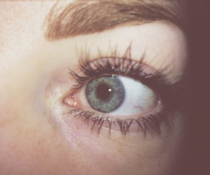 blue, freckles, and grunge image