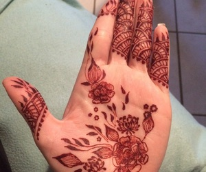 design, hand, and palm image