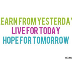 quote, live, and hope image