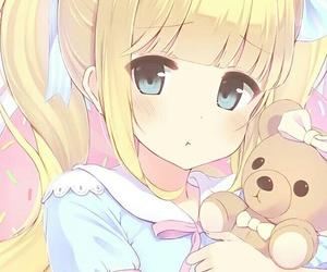 anime, girl, and pout image