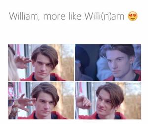 inlove, skam, and william image