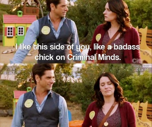 criminal minds, john stamos, and emily prentiss image