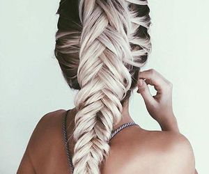fashion, pretty, and hair color image