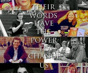 book, john green, and harry potter image