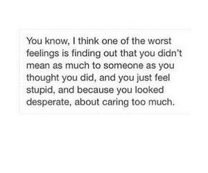 quote, feelings, and sad image