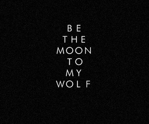 black, moon, and quotes image