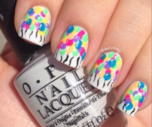 happy birthday, nail art, and nail polish image