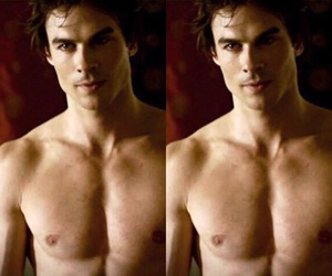 ian somerhalder, damon salvatore, and damon image