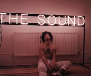 the 1975, the sound, and pink image