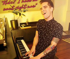 brendon urie, panic at the disco, and magazine image