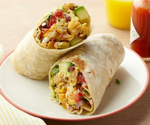 food, burrito, and mexican image