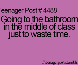 class, teenager post, and quote image