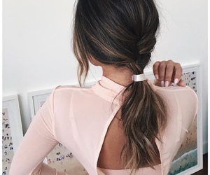 dress, glam, and hair image