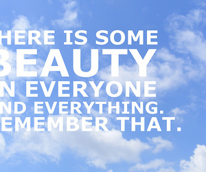 beauty, sky, and typography image