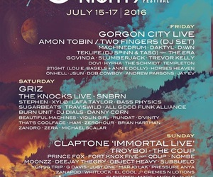 california, lineup, and music festival image