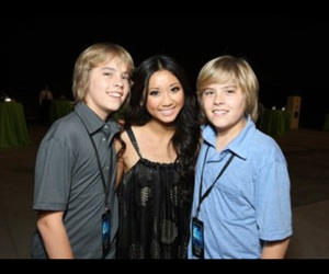 brenda song, dylan sprouse, and cole sprouse image