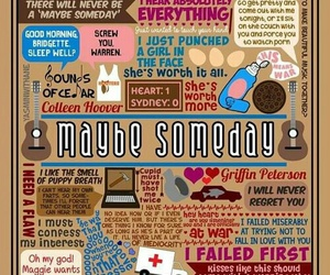 book, maybe someday, and colleen hoover image