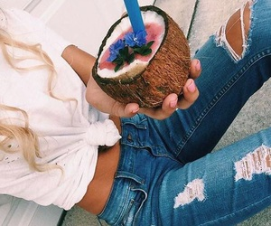 fashion, coconut, and style image