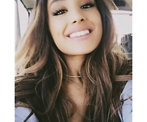 ariana grande, smile, and dangerous woman image
