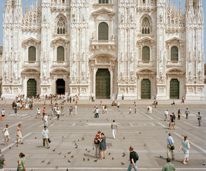 architecture, italy, and milan image