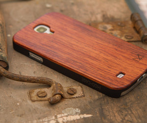 etsy, samsung s4, and wood phone case image