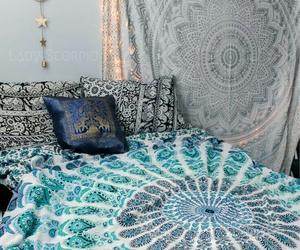 bed and mandala image