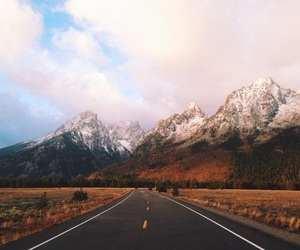 mountains, landscape, and road image