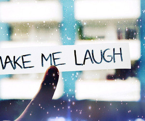 laugh, quotes, and text image