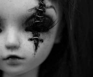 doll and scary image