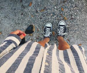 alternative, black, and black converse image