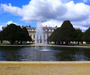 gardens, london, and hampton court palace image