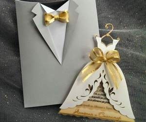 card, dress, and invitation image
