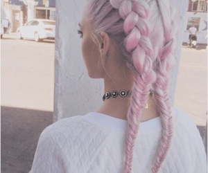 accessories, braids, and color image