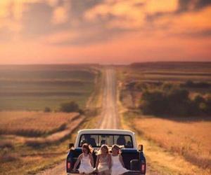 car, road, and summer image