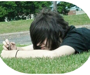 hair, emo boy, and cute image
