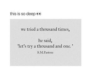 boy, deep, and girl image