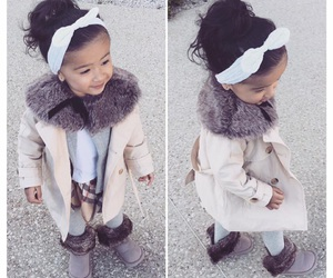 asian, baby, and Burberry image