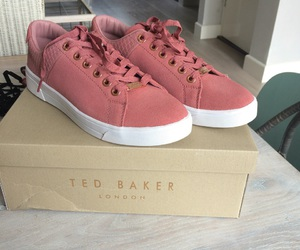 baker, pink, and sneakers image