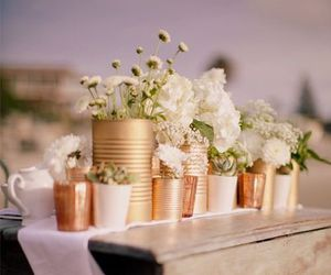 flowers, decor, and diy image