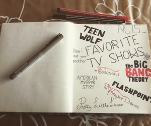 how i met your mother, journal, and ncis image