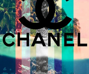chanel, wallpaper, and beach image