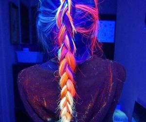 colors, fashion, and hair image