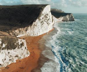 nature, ocean, and beach image