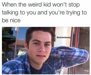 dylan o'brien and funny image